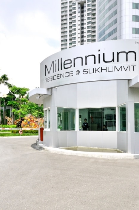 We list the security measure at Millennium Residence in Bangkok.