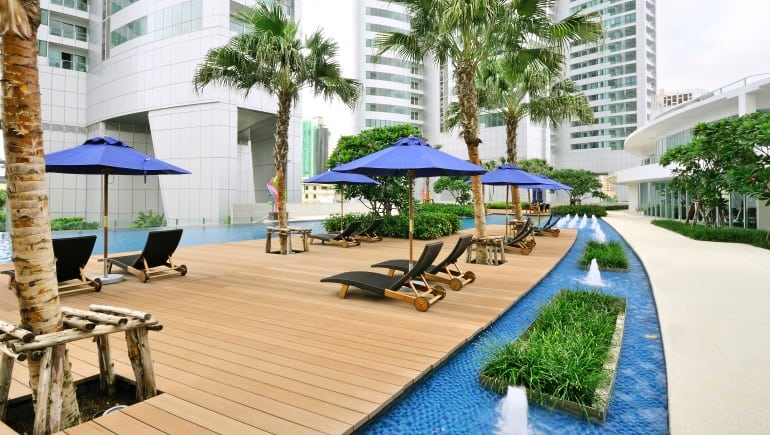 Millennium Residence in Bangkok images showing outside and facilities