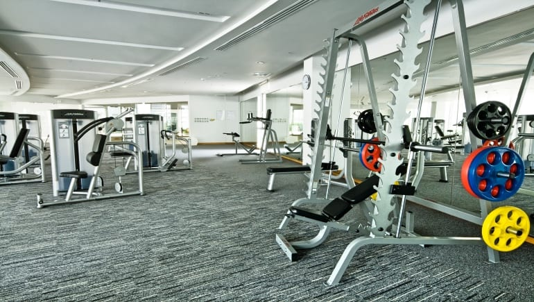 Can I bring guests or instructors to the gym at Millennium Residence in Bangkok?