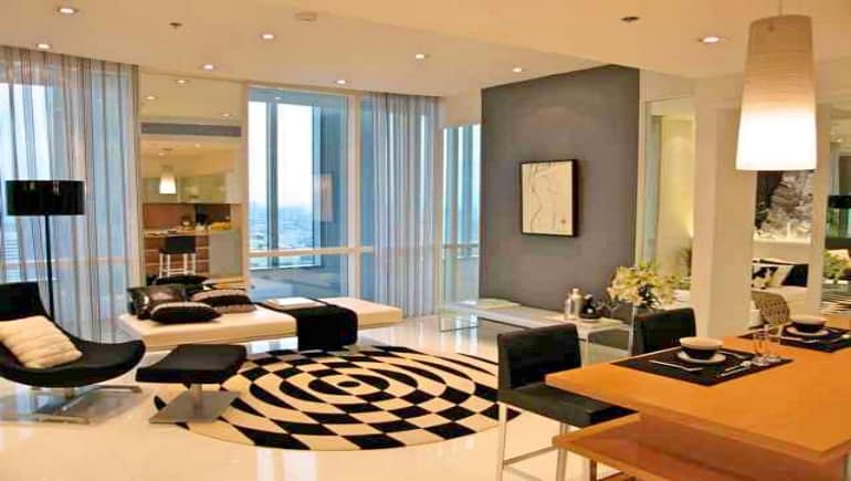 Millennium Residence Bangkok - Showcase Two Bedroom Rental Condo - www.millenniumresidence.net -