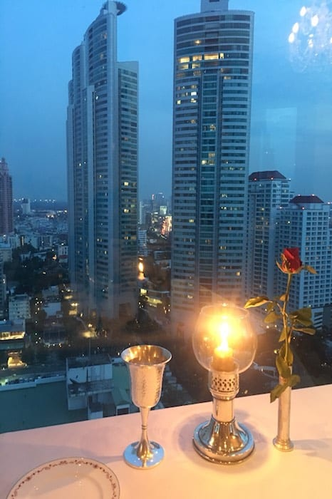 Millennium Residence in Bangkok seen from the Rembrandt Hotel - www.millenniumresidence.net